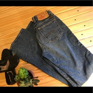 Almost vintage extra long Lucky jeans